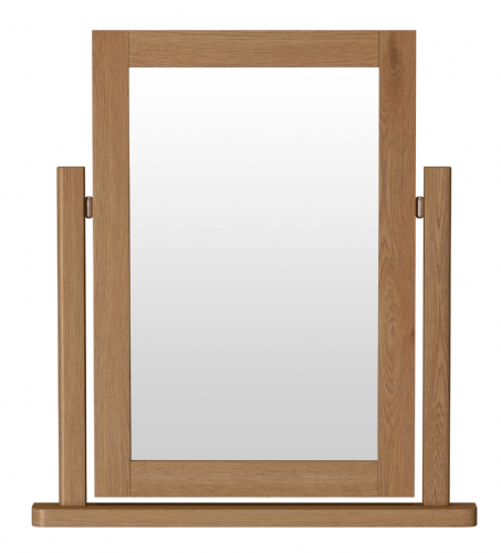 Richmond Rustic Oak Single Dressing Table Mirror
